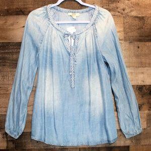 Vintage America blues denim tunic